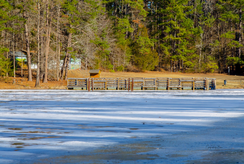 Frozen Lake at Durant (2)